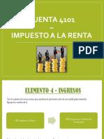 CUENTA 4101 Impuesto a La Renta