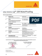 Sika MonoTop-109 WaterProofing_DoC