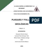 PLIEGUES Y FALLAS GEOLÓGICAS - INVESTIGACIÓN MONOGRÁFICA.docx