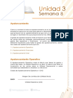 Lectura Semana 8 Aplancamiento Operativo y Financiero