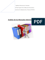 Analisis- Manuales