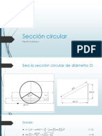 Seccion Circular