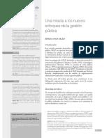 Una nueva mirada a los nuevos enfoques de la gestion pública. ESAP.pdf