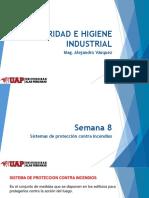 Seguridad e Higiene Industrial - Semana 8