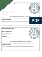 Registro de Pacientes Con Tumres