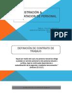 Administración y Contratación
