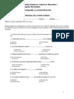 Evaluación de Conectores