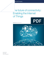 McKinsey the Future of Connectivity Enabling the Internet of Things