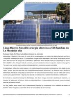 01-04-2019 Lleva Héctor Astudillo energía eléctrica a 506 familias de La Montaña alta.