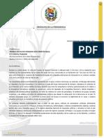 Comunicado de Juan Guaidó dirigido a Federica Mogherini y la UE