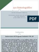 El Ensayo Historiografico Power Point (1)