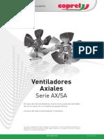 Coprel SPA Ventiladores Axiales SerieAX