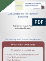 Notes for behavior