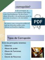 Qué Es La Corrupción