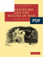 (Cambridge Library Collection - Literary Studies) Theodore Spencer-Shakespeare and the Nature of Man-Cambridge University Press (2009).pdf