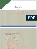 Fm_II_Tema_2 CONCEPTOS BÁSICOS EN INVESTIGACIÓN