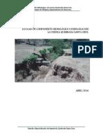 Informe Componentes Hidrologicos e Hidraulicos Quebrada Santa Cruz.pdf