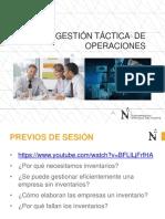 GESTACOP Sesión 3 y 4 - Gestión de Inventarios