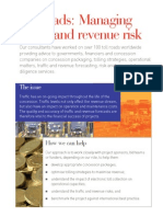 Toll Roads_managing Traffic and Revenue Risk