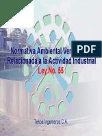 04 Normativa Ambiental Venezolana Ley 55