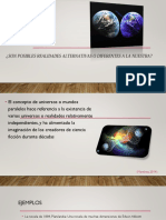 JUVENTUS 6D ¿SON POSIBLES REALIDADES ALTERNATIVAS O DIFERENTES A LA NUESTRA