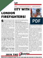 Socialist Party FBU strike bulletin