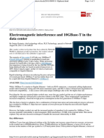 01-04 Electromagnetic Interference and 10GBase-T in the DC