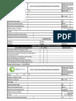 PAU for 001 Solicitud de Incorporación Ruta Sanitaria v 02