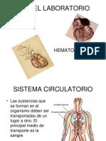 Área de Hematología