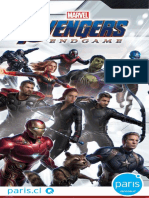 Catalogo Avengers Paris