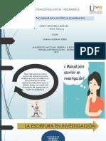 Manual Sobre La Escritura en Investigación