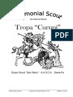 Ceremonial Scout - Todas Las Ramas