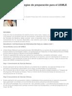 Recursos y Estrategias de Preparación Para El USMLE Step 1