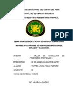 Informe de Osmodeshidratacion