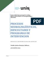 Natalia Montoya Hitos en La Neuropsicologia Del Lenguaje Tema 2