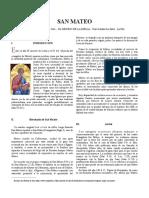San Mateo, el eslabón entre el Antiguo y Nuevo Testamento
