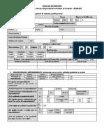 Ficha Emprendimientos RENAJER Marzo 2019