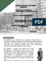 11.0. El Teodolito
