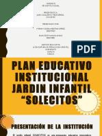 Plan Educativo Institucional Jardin Infantil