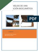 Analisis de Una Edificacion Bioclimatica