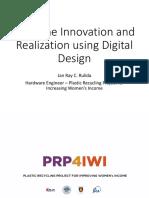 Machine Innovation and Realization using Digital Design