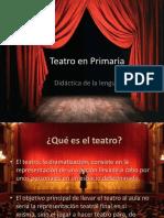 Teatro en Primaria
