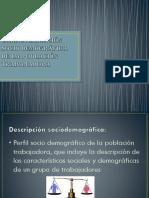 Caracterización Socio Demográfica de La Población Trabajadora