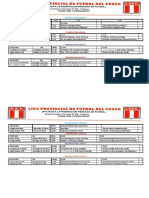 Copa Perú Etapa Provincial Cusco Segunda Fecha