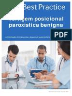 Vertigem Posicional Paroxistica Benigna