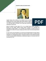 Biografia Corta de Eugenio Espejo