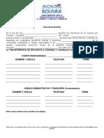 MILDRED NORMAS DEL Fondo Municipal Para La Transferencia de Recursos Acualizada