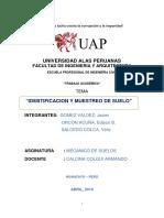 INFORME N° 001 UAP CONCRETO PROYECTO GRUPAL