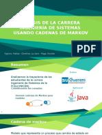 Análisis de la carrera Ing. de Sistemas usando cadenas de Markov