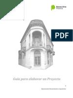 Guía Para Elaborar Un Proyecto
